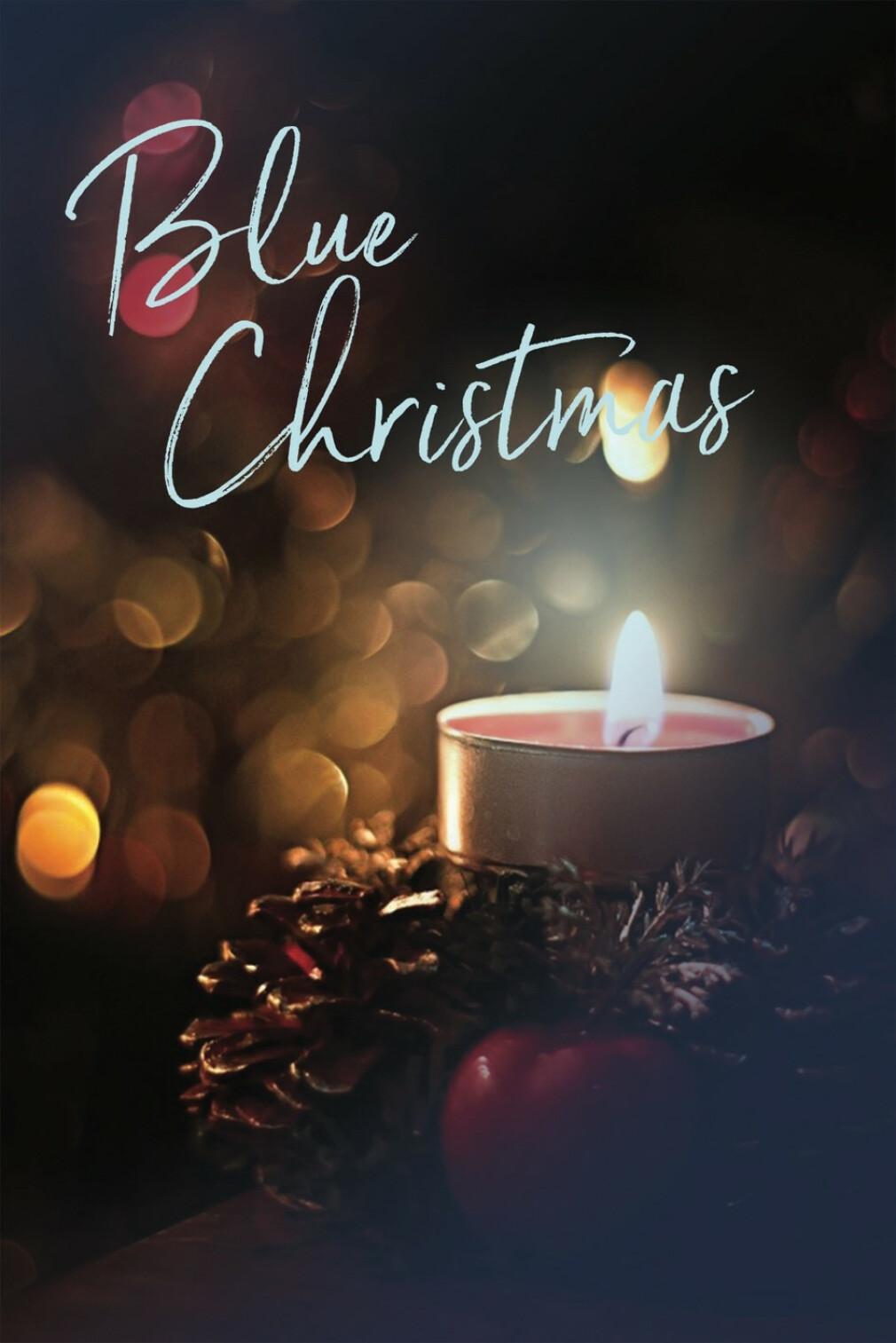 December 8, 2019 Blue Christmas Bulletin