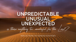 June 14, 2020 Unpredictable, Unusual, Unexpected